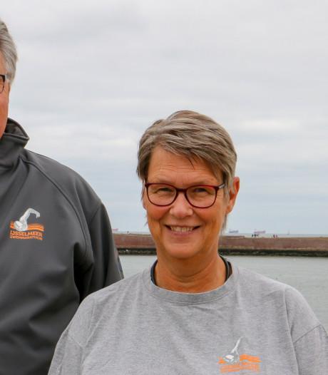 Echtpaar hoopt dat 50ste editie IJsselmeertocht niet de laatste is: 'Zullen traantje wegpinken'