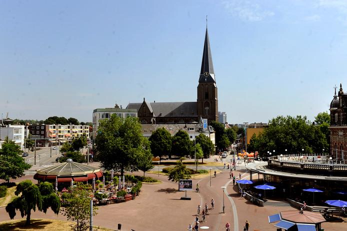 De Martinuskerk aan de Steenstraat.