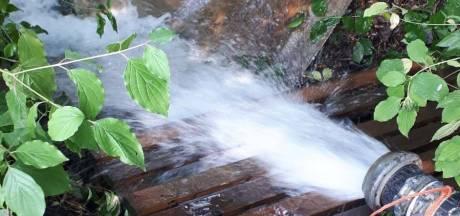 De waterpompen werken, hoop op behoud van de beekprik in de Reusel