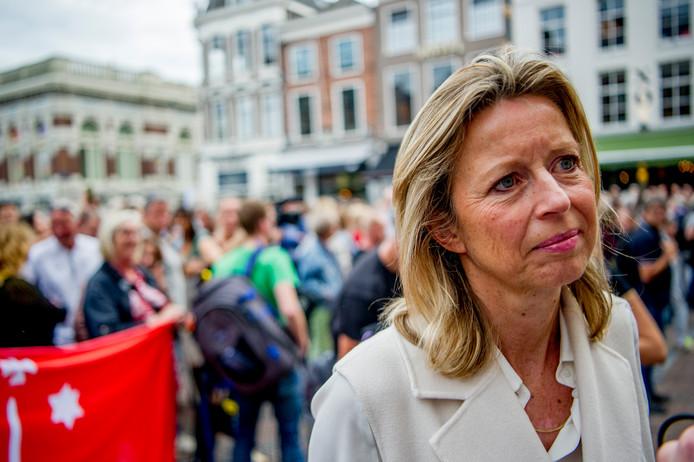 Minister van Binnenlandse Zaken Kajsa Ollongren (D66).