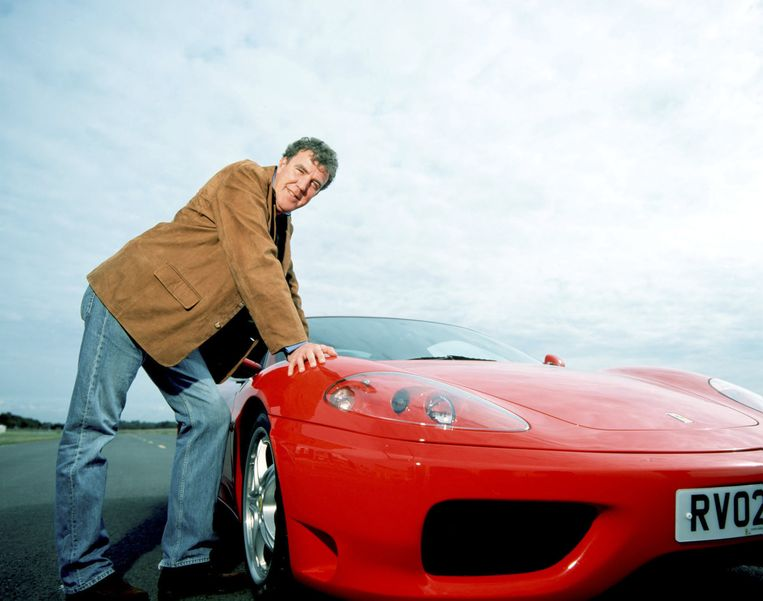 Jeremy Clarkson, presentator van Top Gear. Beeld null