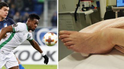 """Nederlandse voetballer die Europees furore maakte vliegt achter tralies na trappen dubbele enkelbreuk: """"Van mijn vader is geen mens meer over"""""""