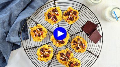 Gezonde chocoladekoekjes zonder suiker maar met bakken smaak: dit is het geheim