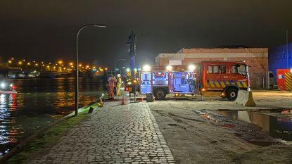 Zoekactie gestart naar mogelijk voertuig en slachtoffer in Lobroekdok