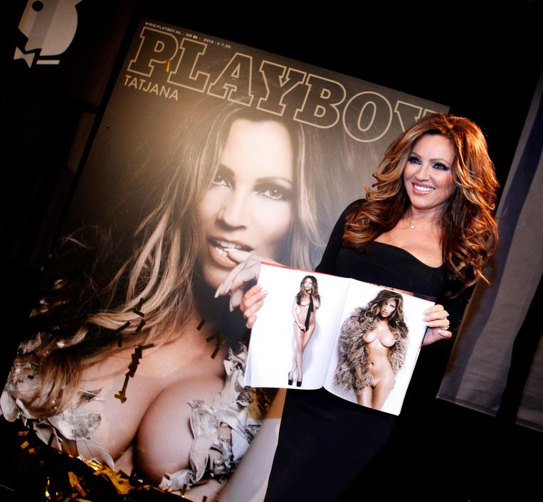 Tatjana stond meer dan 10 keer in de Nederlandse editie van Playboy. Beeld anp