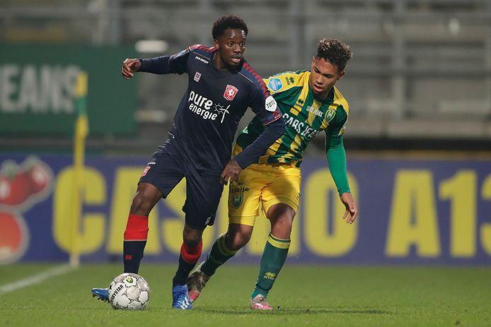 (Queensy Menig of FC Twente ontbreekt zondag tegen PSV.