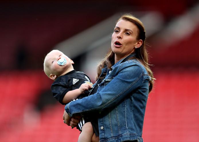 Coleen Rooney, de vrouw van Wayne.