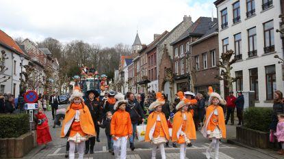 VIDEO: Prins Bjarne I regeert over kindercarnavalstoet van Tielebuis