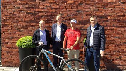 Marnix Declercq wint derde Driespoort-fiets