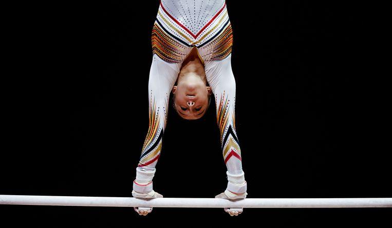 Nina Derwael in actie