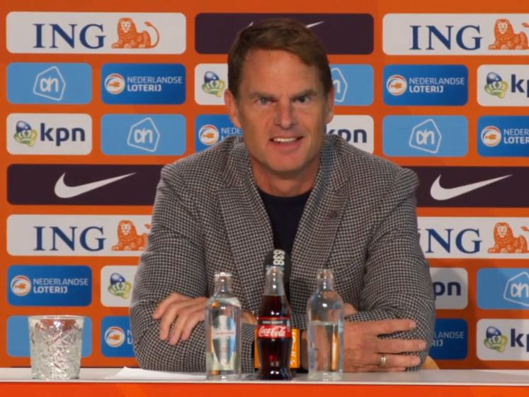 'Ik ben trots en voel me vereerd om bondscoach te zijn'
