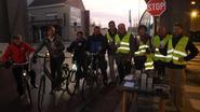Opkikker voor zichtbare fietsers