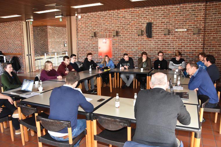 Jongeren in dialoog met schepencollege