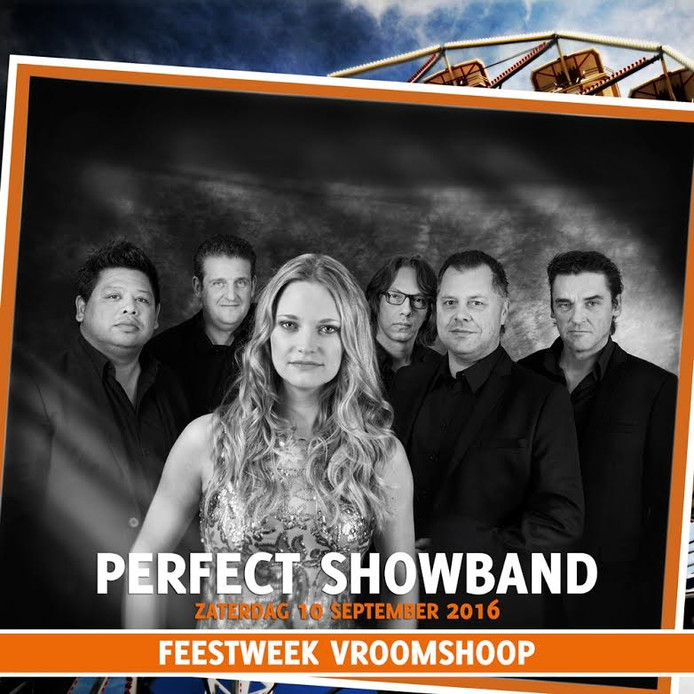 De Perfect Showband sluit de Feestweek Vroomshoop af.