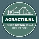 Het logo van Agractie.