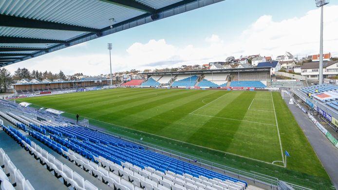 Stadion van FK Haugesund uit Noorwegen.