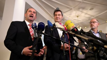 Beierse CSU sluit coalitie, Vrije Kiezers leveren drie ministers