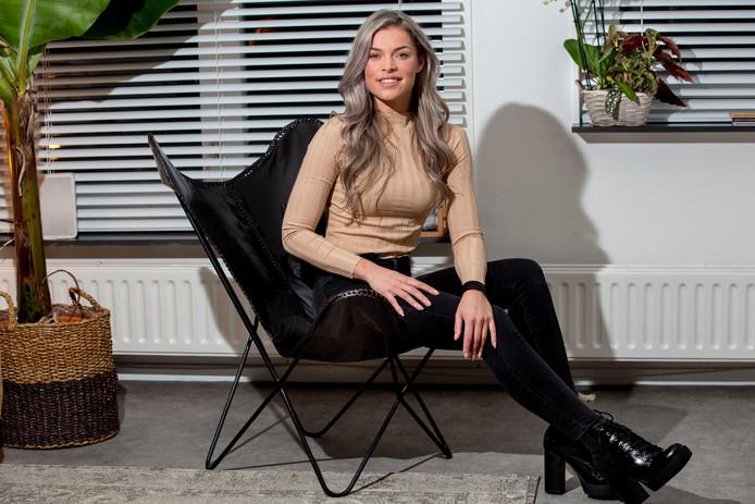 De 25-jarige Ruby van Oosterhout uit Brielle. foto: ARIE KIEVIT