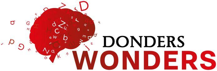 Het logo van Donders Wonders.