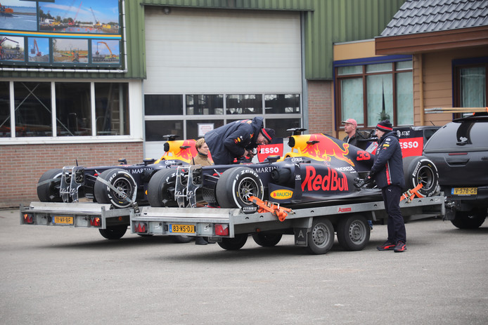 Redbull Racing in Maasland