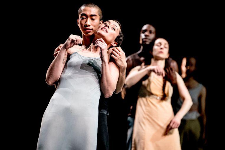 De korting op het Fonds Podiumkunsten kan ook dansgezelschap Conny Janssen Danst raken. Beeld Andreas Terlaak