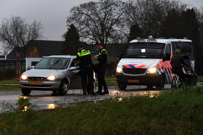 Politie en Gemeente stonden ook overdag op scherp.