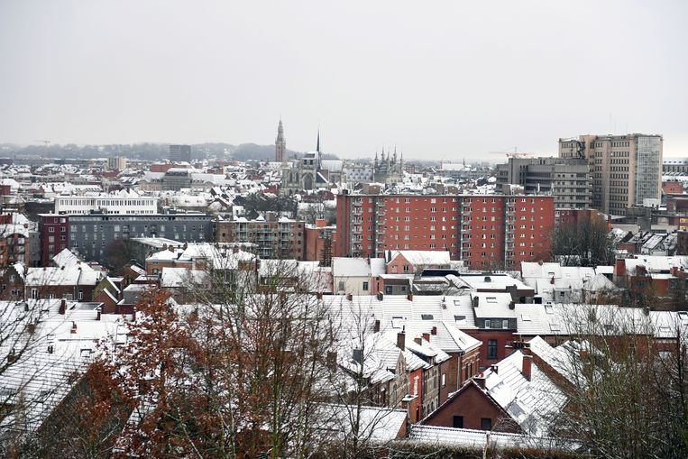 Een beeld op Leuven vanop de Keizersberg.