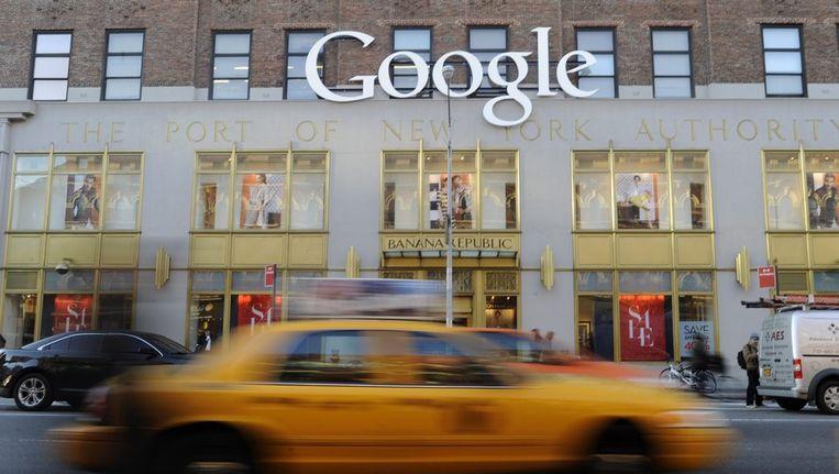 Hoofdkantoor van Google in New York Beeld ANP