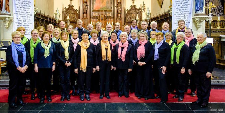 Vorig jaar mocht het koor nog haar vijftigjarig bestaan vieren
