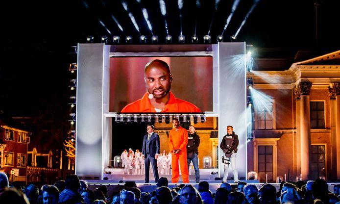 2017 in Leeuwarden: Dwight Dissels speelde Jezus in de zevende editie van The Passion.
