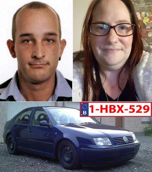 Sandra Paermentier (40) en Stephen Clement (27) sinds zaterdag vermist in Hoei.
