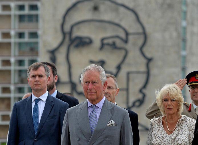 Prins Charles en zijn vrouw Camilla in Cuba.