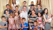 """Brits koppel stopt met kinderen maken na 20ste baby: """"We kunnen geen naam meer verzinnen"""""""