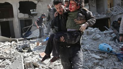 """""""Geen woorden meer voor gruwel in Syrië"""""""
