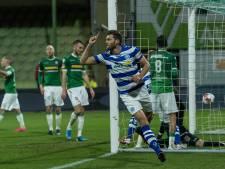 Tiental De Graafschap worstelt zich langs FC Dordrecht; derde periodetitel lonkt