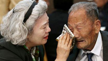 Korea's overwegen zeldzame reünie door grens gescheiden familieleden: voor velen laatste kans