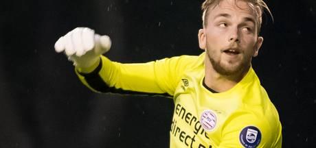 Jong PSV met keeper  Jurjus naar De Graafschap
