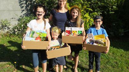 Mama van vier ontwerpt kant-en-klare kinderfeestjes in een doos