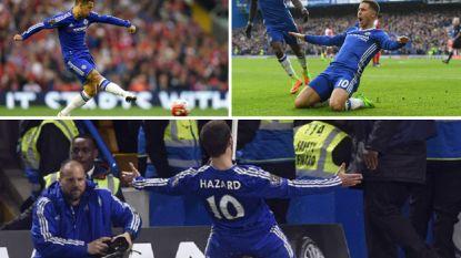 Eden Hazard maakte op Boxing Day zijn 100ste treffer voor Chelsea: dit waren zijn 5 mooiste goals in een truitje van 'The Blues'