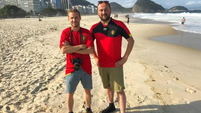 Onze mannen in Rio, tussen nerveuze Brazilianen
