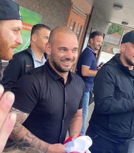 FC Utrecht over rentree Sneijder: 'De bal ligt bij Wesley'