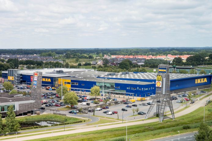 Ikea Plein Westermaat langs de A1