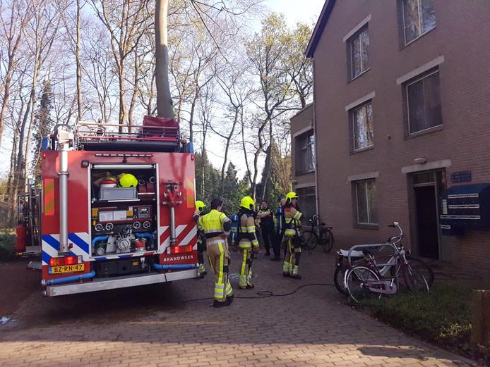 De brandweer had het vuur al snel onder controle.