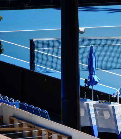 Deux joueurs de l'Open d'Australie testés positifs à la Covid-19