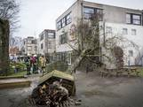 Boom valt op kinderdagverblijf De Kiekeboe in Oldenzaal