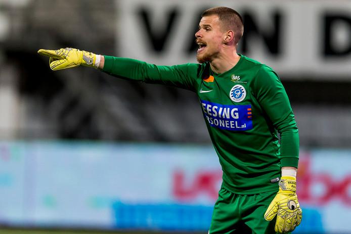 Filip Bednarek in het shirt van De Graafschap.
