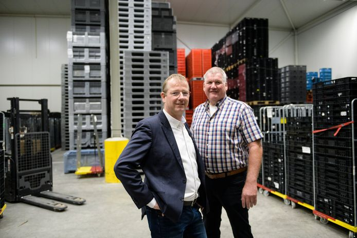 Anton Müller (rechts) en Jan-Peter Müller legden zich toe op koeltransporten. Het bleek een gouden greep.