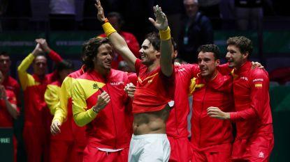 Bautista Agut en Nadal schenken Spanje zesde Davis Cup