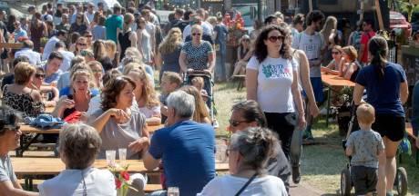 Ede geniet van zonnig openluchtrestaurant bij Eten op Rolletjes