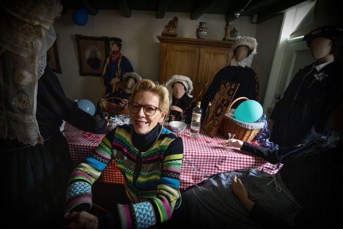 Gerdien voelt zich thuis bij een 'Brabantse boerenbruiloft'.